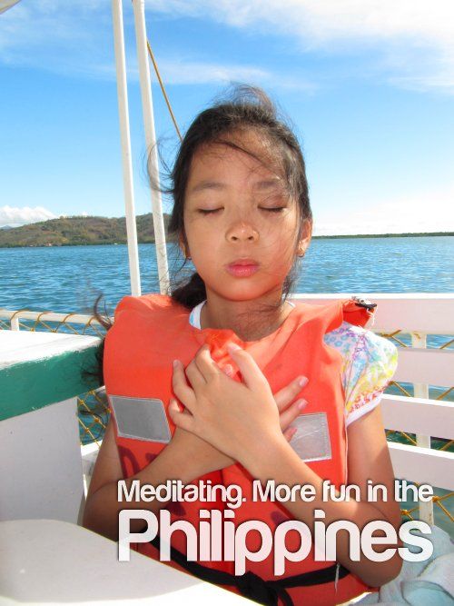Meditating - More Fun In The Philippines