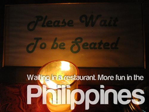 Waiting - More Fun In The Philippines